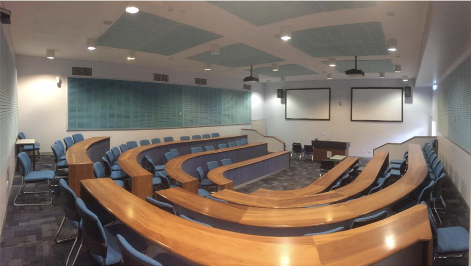 University lecture room