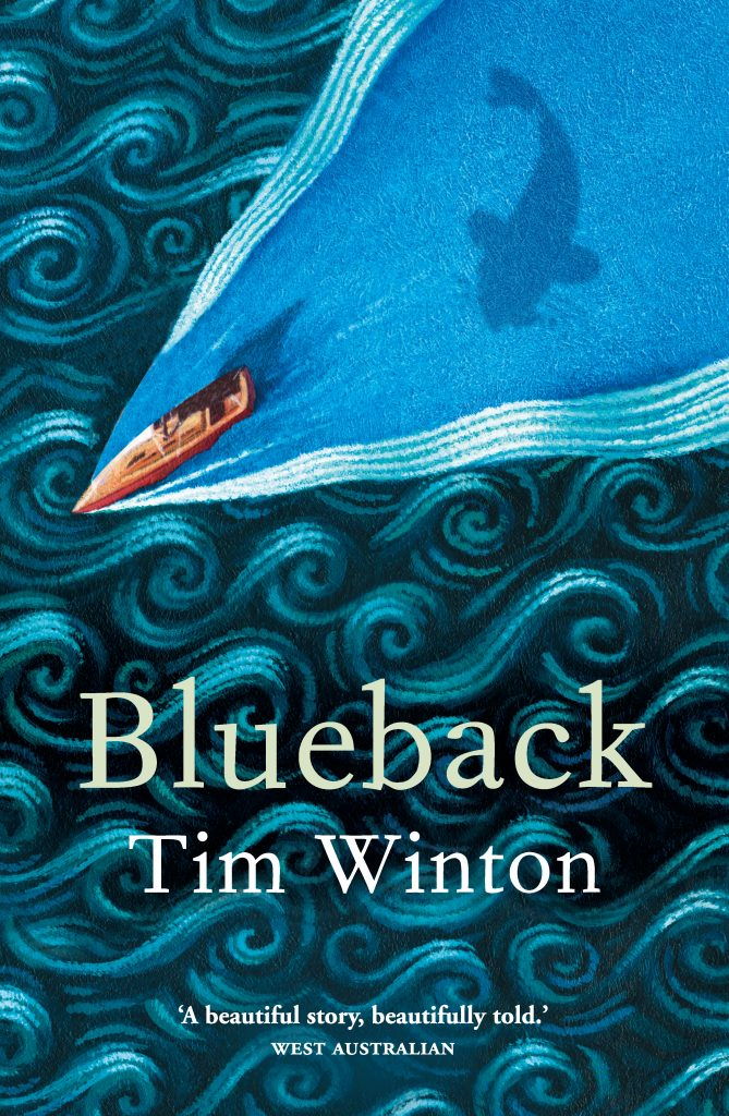 Blueback by Tim Winton cover